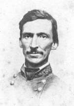 Brigadier-General M. Jeff Thompson [WICR 31454 in the collection of Wilson's Creek National Battlefield. Image courtesy of the National Park Service]