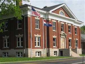 Missouri Civil War Museum building taken in Spring 2011.