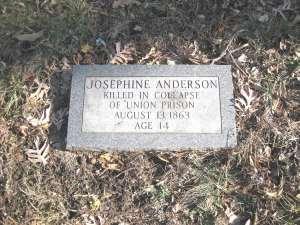 Josephine Anderson grave