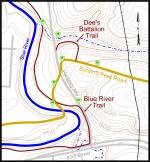 Big Blue Battlefield Walking Tour, East