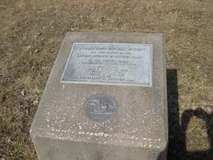 Byram's Ford Historic District Marker
