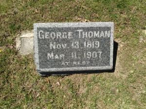 George Thoman's Grave