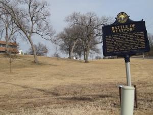 Battle of Westport Historical Marker