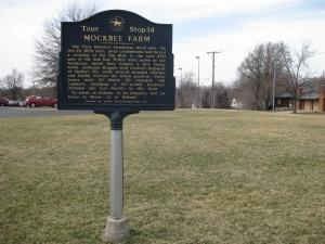 Mockbee Farm Historical Marker