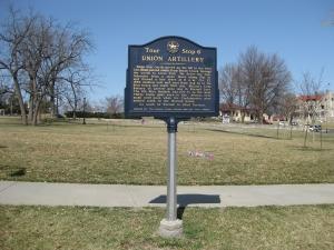 Union Artillery Historical Marker