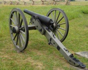3-inch Ordnance Rifle (rear)