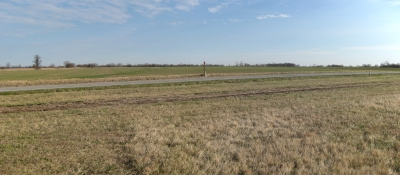 Looking to North where Federal Cavalry Appeared